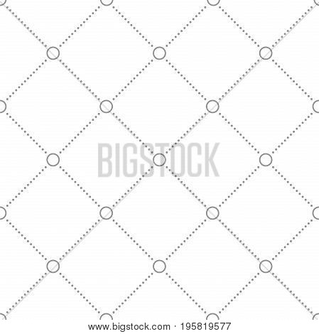 Geometric dotted vector light silver pattern. Seamless abstract modern texture for wallpapers and backgrounds