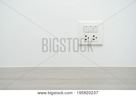 Light Switch And Power Outlet