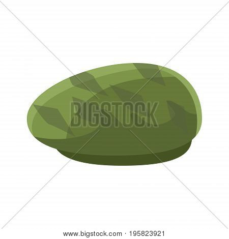 Green beret vector Illustration on a white background