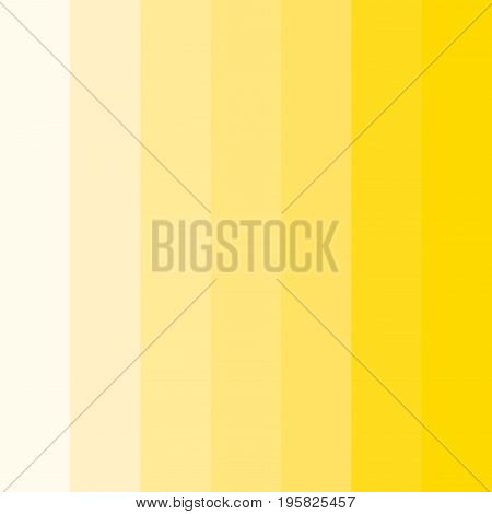 Abstract conceptual background of rectangles in different shades of yellow. Halftone effect. Vector illustration.