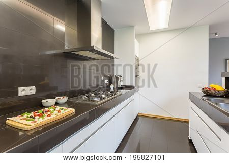 Modern Kitchen With Canopy