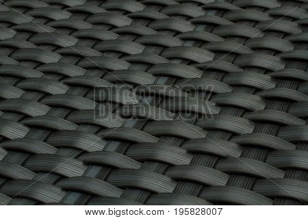 wicker texture as old gray plastic background