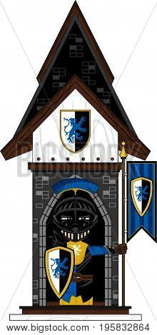 Banner Knight On Guard