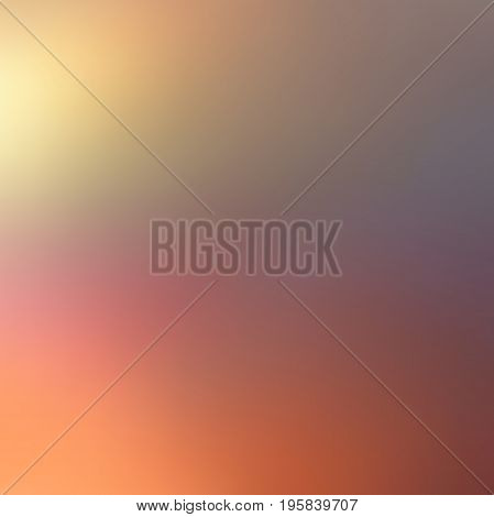 Abstract colorful blurred vector background. Element for your website or presentation. Grunge, retro color.