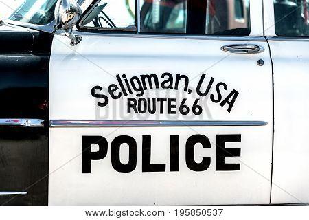 Seligman, Arizona Police Car