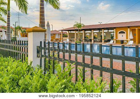 Outskirts Condominium Neighborhood Swimming Pool