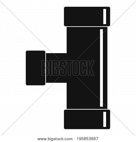 Water tube icon. Simple illustration of water tube vector icon for web