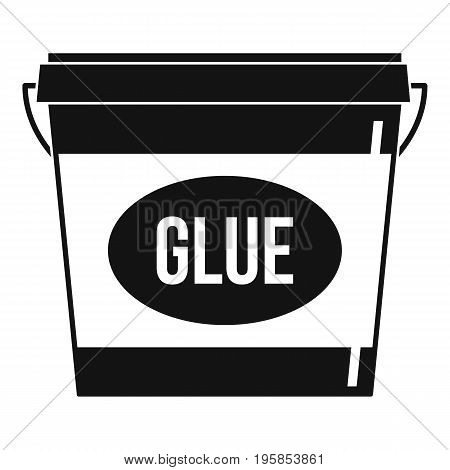 Glue icon. Simple illustration of glue vector icon for web