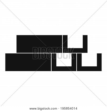 Metal corner icon. Simple illustration of metal corner vector icon for web