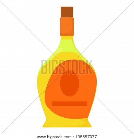 Port wine icon. Cartoon illustration of port wine vector icon for web