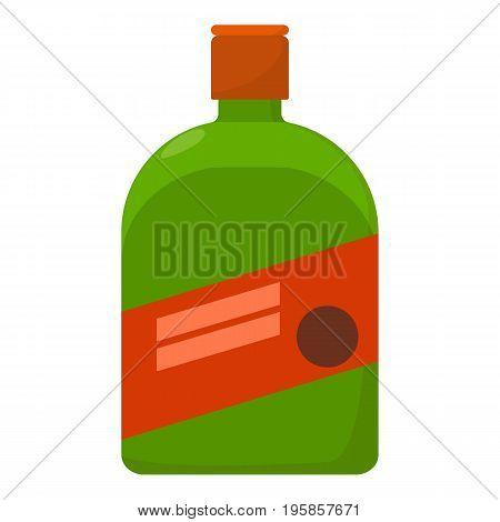 Liquor icon. Cartoon illustration of liquor vector icon for web
