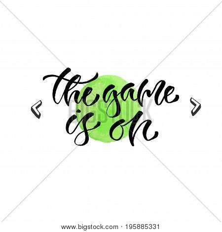 it always seems impossible until it's done - handwritten vector phrase. Modern calligraphic print for cards, poster or t-shirt.