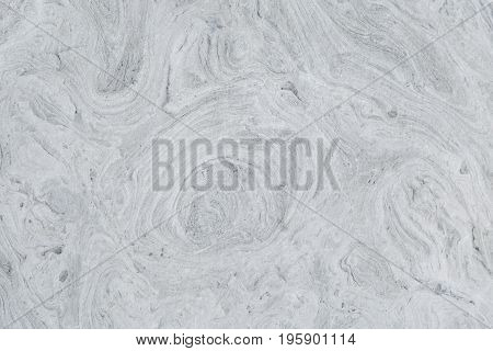 Fibrous structure of the surface of a gray stone