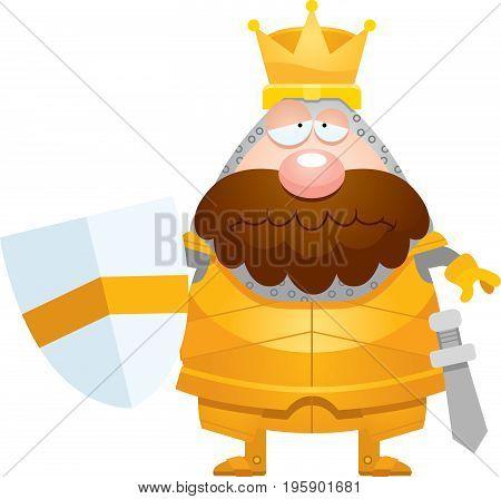 Sad Cartoon King