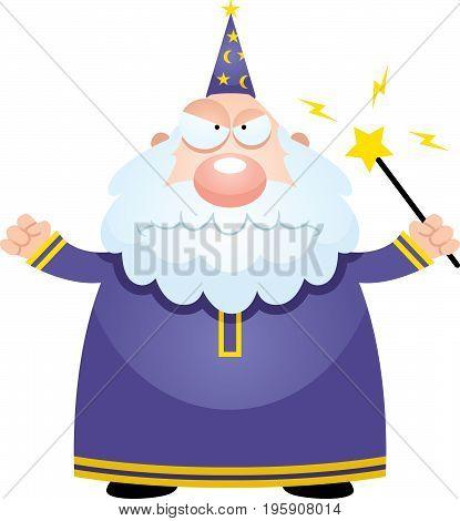 Angry Cartoon Wizard