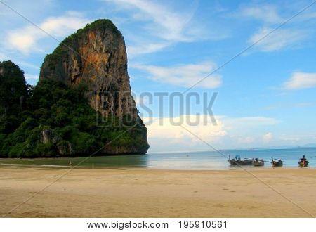 Where sky meets heaven at Krabi, Thailand