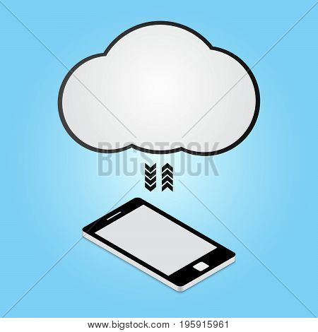 Technology Digital Cyber Security Smart Phone Cloud Connect