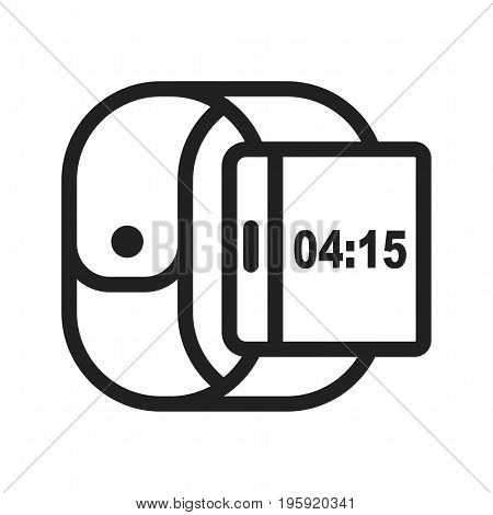 Right, side, view icon vector image. Can also be used for Smart Watch. Suitable for mobile apps, web apps and print media.