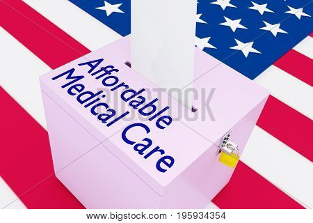 Affordable Medical Care Concept