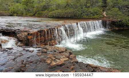 Fruit Bat Falls is in the remote area of North Queensland north of Cairns