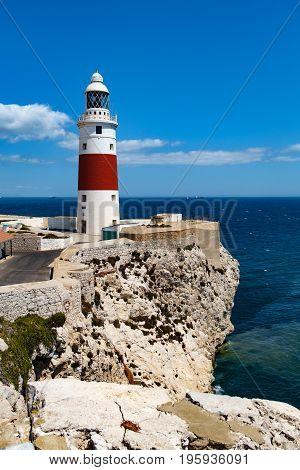 Lighthouse Trinity High On Europe Point