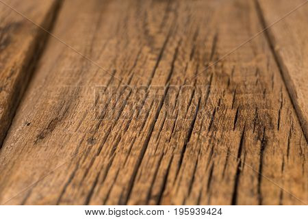 Wood Texture Wooden Plank Grain Background Desk in Perspective Close Up Striped Timber Old Table or Floor Board