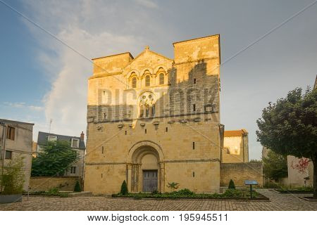 Saint-etienne Church In Nevers