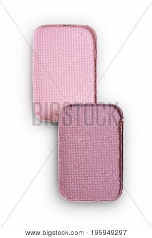 Pink Eyeshadow For Make Up As Sample Of Cosmetic Product