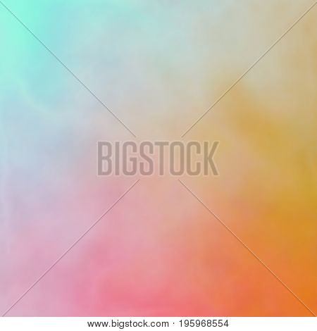 Interesting Uneven Colorful Background Texture With Orange Pink Blue Colors Blend