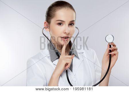 Doctor In White Medical Uniform