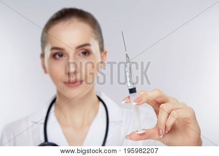 Medicine Concept With Female Doctor