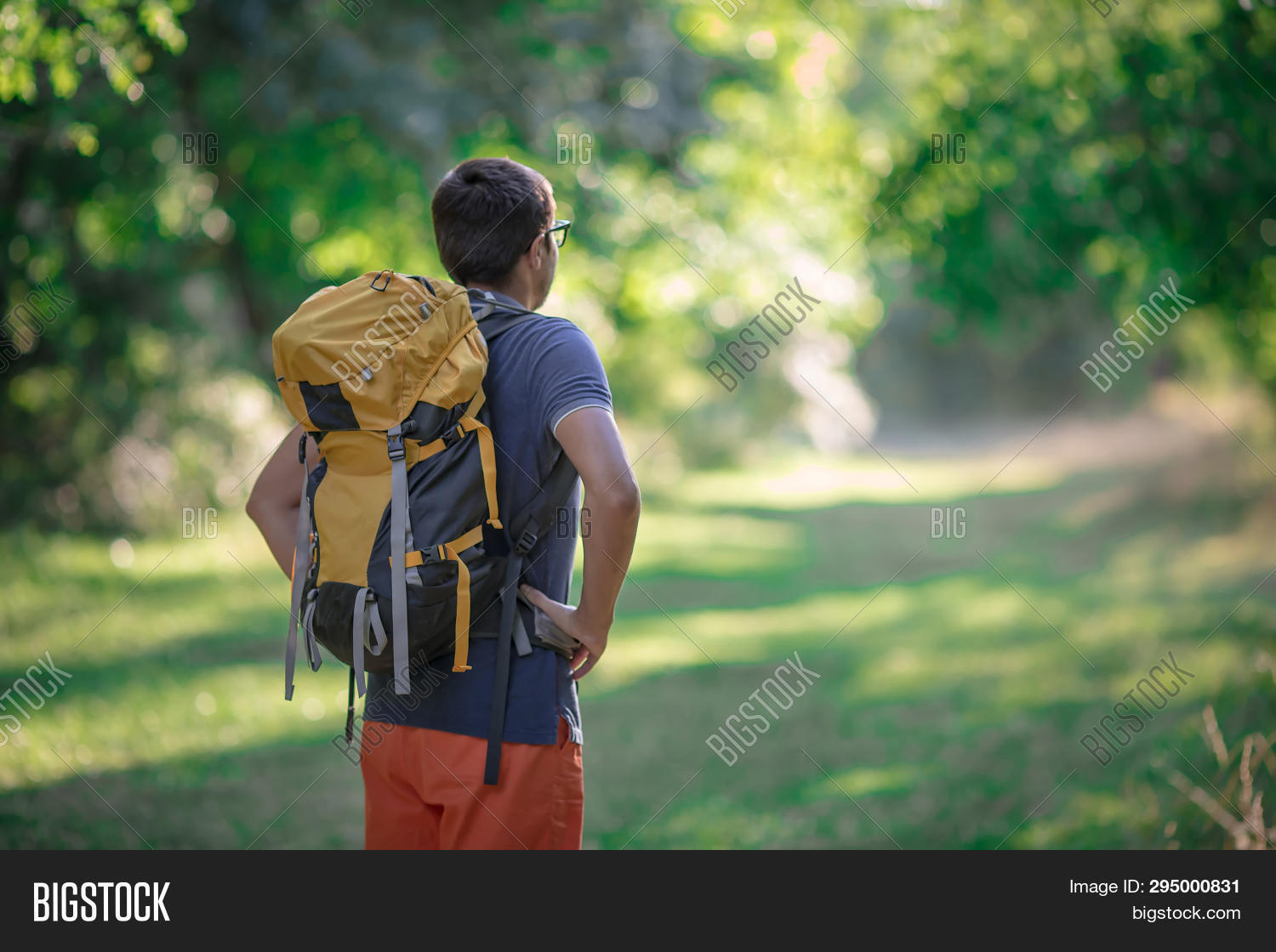 a1a65f05a6e8 Young Smiling Backpack Image & Photo (Free Trial) | Bigstock