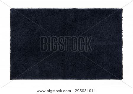 Top View Of Carpet Isolated On White Background