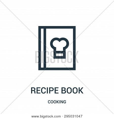 Recipe Book Icon Isolated On White Background From Cooking Collection. Recipe Book Icon Trendy And M