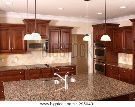 Luxury Kitchen With Island  3