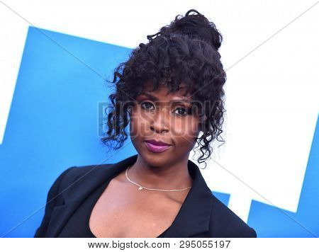 LOS ANGELES - APR 08:  Khalilah Joi arrives for the 'Little' Premiere on April 08, 2019 in Westwood, CA