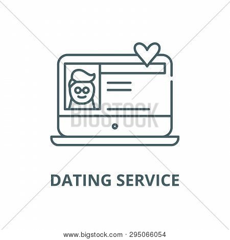 Dating line service