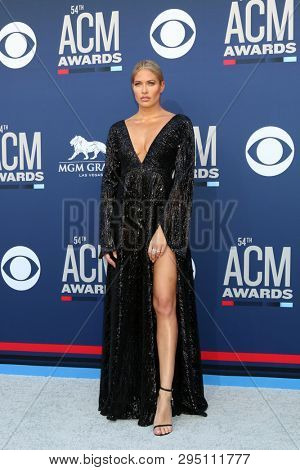 LAS VEGAS - APR 7:  Barbie Blank at the 54th Academy of Country Music Awards at the MGM Grand Garden Arena on April 7, 2019 in Las Vegas, NV