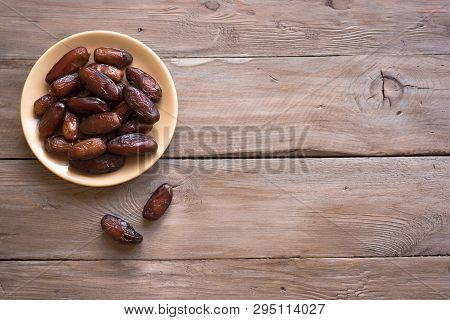 Dates On Plate