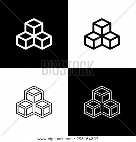 Set Isometric Cube Vector & Photo (Free Trial) | Bigstock