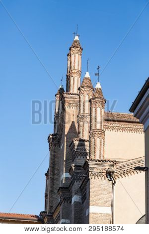 View Of The Historic Duomo From Of Brescia