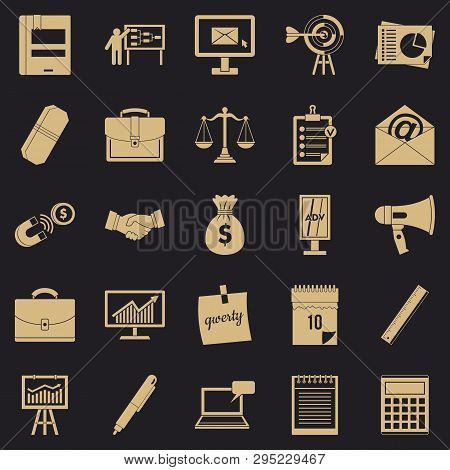 Gross Product Icons Set. Simple Set Of 25 Gross Product Vector Icons For Web For Any Design
