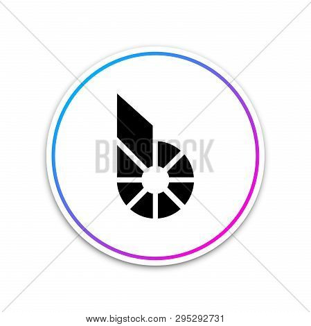 Cryptocurrency Coin Bitshares Bts Icon On White Background. Physical Bit Coin. Digital Currency. Alt