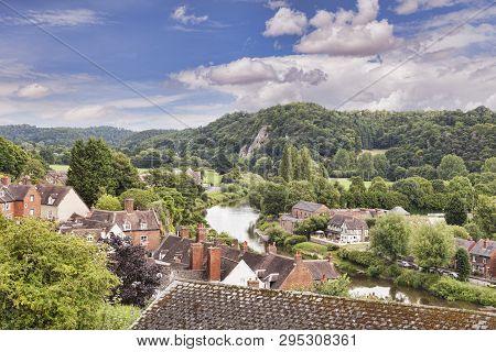 The  River Severn And Bridgnorth , Shropshire, England