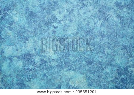 background of blue amate bark paper handmade created in Mexico