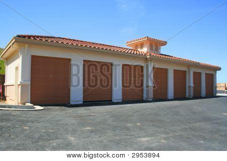 Brand New Garage Building