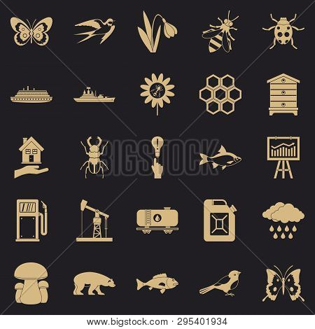 Fervent Icons Set. Simple Set Of 25 Fervent Vector Icons For Web For Any Design