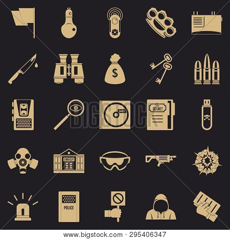 Best Software Icons Set. Simple Set Of 25 Best Software Vector Icons For Web For Any Design