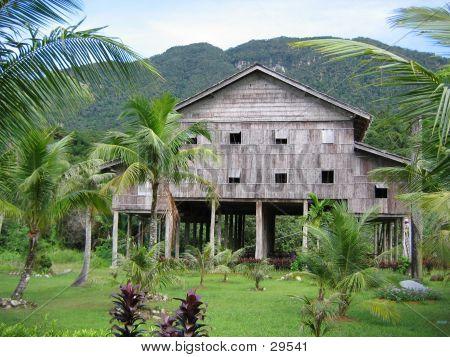 Traditional Tribal Communal Dwelling