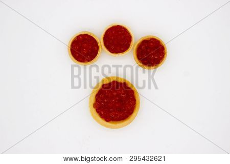 Luxury Red Caviar Background. Food Photo Concept.